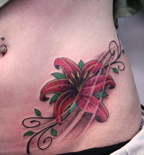 Motivy tetování gt tetovani kytky