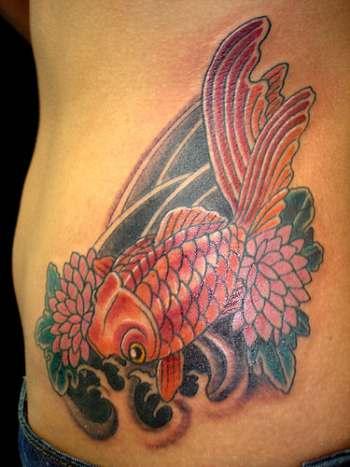 Tetování ryb...