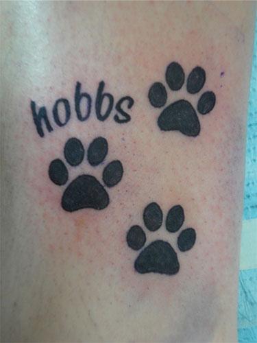 Tetování tla...
