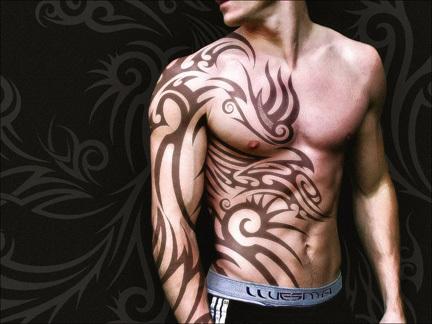 Motivy tetování > tetovani-tribal